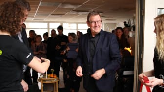 Åbningsfest. Poul Nyrup Rasmussen er også på pletten, når headspace åbner i Lyngby tirsdag den 2. april. Her fra åbningen af headspace Ballerup tilbage i 2017.