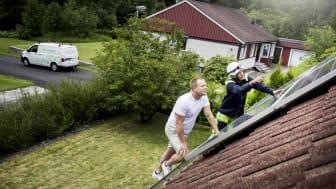 Linde energi säljer kundanpassade och nyckelfärdiga solcellslösningar. Foto: Linde energi.