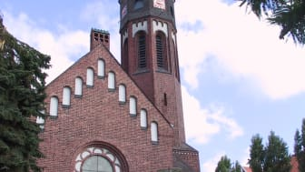 Die Hephata-Kirche in Schwalmstadt-Treysa