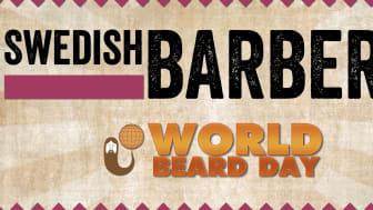 Barberare från hela Sverige samlas till en inspriationsdag i Stockholm på World Beard Day!