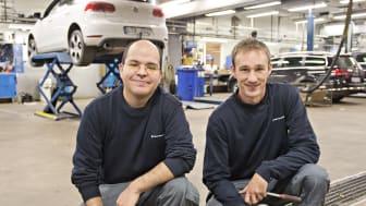 Volkswagen Sverige startar pilotprojekt: spanska biltekniker får trygga jobb i Sverige