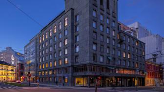 Kristian August gate 23 vil inngå i Höegh Eiendom sin sentrumsportefølje, og styrker selskapets utleiekapasitet i sentrale strøk av bykjernen.