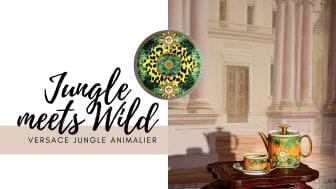 Knallige Farben und exotische Prints machen Versace Jungle Animalier zum Eyecatcher.
