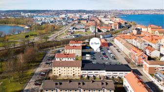 HSB brf Fågeln byggs på Liljeholmen i Jönköping.