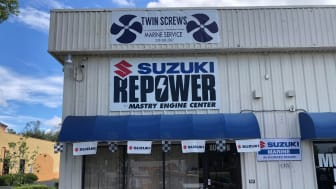Image - Mastry Engine Center - Twin Screws Marine Service in Fort Myers, Florida, is the latest authorized Mastry Suzuki RePower Center