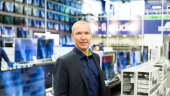 Niclas Eriksson, VD på Elgiganten