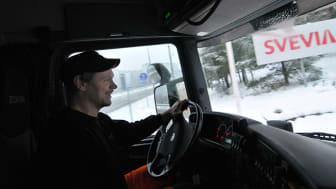 Under de närmaste fyra åren sköter Svevia vägunderhållet i södra Roslagen. Foto: Ulf Lodin