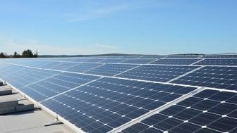 Martin & Servera i Enköping satsar på solenergi