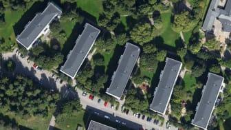 Byggmästargruppen har fått förtroendet att av Brf Räven i Solna att renovera deras  120 lägenheter
