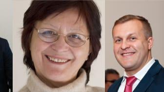 Ivan Shtepliuk, Rositsa Yakimova och Volodymyr Khranovskyy är forskarna bakom affärsidén