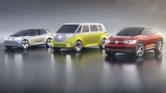 Volkswagen ställer om att enbart erbjuda elbilar