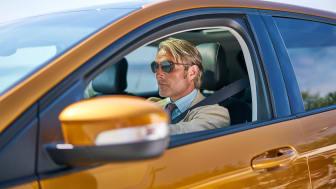 Stjerneskuespilleren Mads Mikkelsen i Ford Edge kampanjefilm!