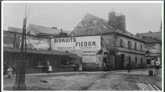 Původní továrna na výrobu sušenek firmy Fiedor v Opavě