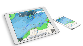 NavLink app has an upgrade to include French, Dutch and German charts