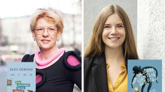 To av årets Brageprisvinnere (Foto: Cappelen Damm)