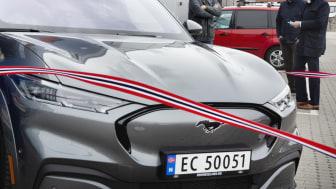 Einar Flåte, Norges første Mustang Mach-E eier, 2021