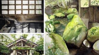 Akvareller av Anders Nilsson