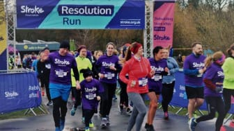 ​Newcastle runners join the resolution to raise £12,000 for the Stroke Association