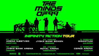 The Minds of 99 annoncerer arenatour allerede til januar