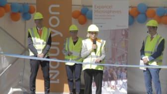 Invigning av ny produktionsanläggning i Sundsvall