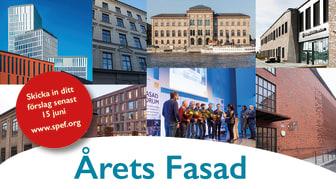 Har ditt projekt Årets Fasad? Tidigare vinnare 2015-2019 - www.spef.org/vinnare-arets-fasad/