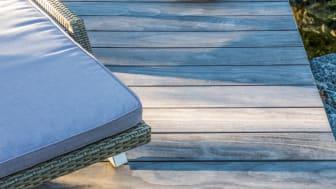 Kebony Deck beim Elbstrand Resort Krautsansd, Foto: Rene Sievert