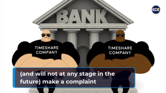 Are big timeshare companies shielding credit providers from compensation claims?