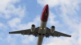 Norwegian med passagerartillväxt och hög kabinfaktor i april
