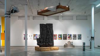 """Mattias Anderssons installationskonstverk """"bed"""", en del av Kungl. Konsthögskolans BFA-utställning. Bild: Jean-Baptiste Béranger."""