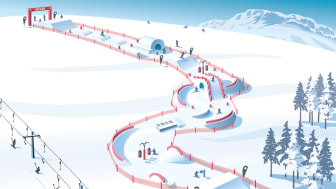 SkiStar Fun Slope will ble launched the upcoming winter.