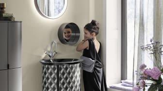 Das Gästebad Diva 2.0 von burgbad macht jedes Bad zu etwas ganz Besonderem