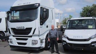 Mekaniker og Compound Manager, Jørgen Rasmussen, afholder sit 40-års jubilæum ved IVECO Danmark A/S