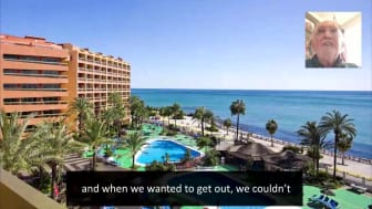 ECC Client testimonial.  Sunset Beach, Holiday World and RCI points owners