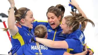 Lag Hasselborg. Bild: Svenska Curlingförbundet