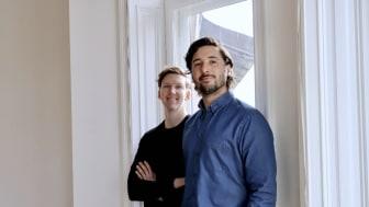 Manne Larsson och Juan Manuel Serruya, grundare av Datia