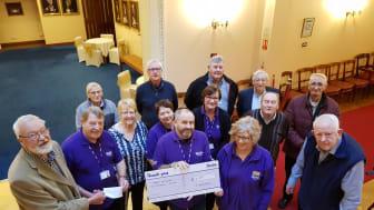Freemasons donation helps stroke survivors to rebuild their lives