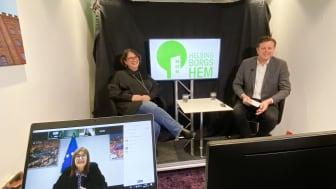Digitalt besök av EU-topp på Sällbo