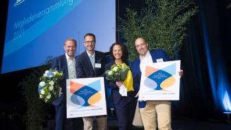 """Die Preisträger des Preises der Deutschen Systemgastronomie 2021: Das Projekt """"Coffe Cup Paper"""""""