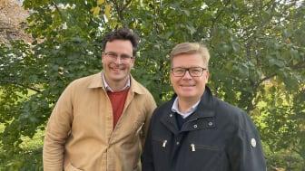 David Sundström och Magnus Edin
