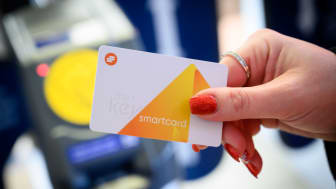 The Key smartcard - now available for free at all ticket offices