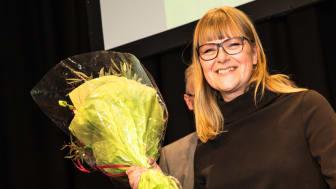 Företaget Operose grundare och VD, Johanna Söderström vann Nordbyggs guldmedalj 2018