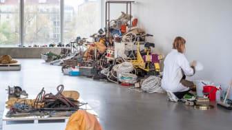 Éva Mag, Det finns en plan för det här, installationsvy Bonniers Konsthall. Foto: Jean-Baptiste Béranger