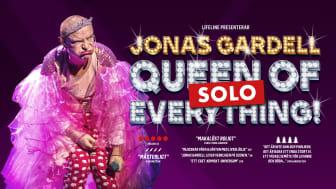 Jonas Gardell på turné med soloversion av sin succéshow