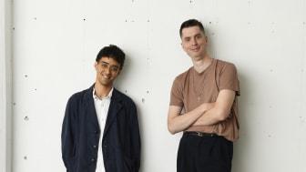 Tobias Bradford till vänster, Ferdinand Evaldsson till höger. Foto: Christofer Dracke