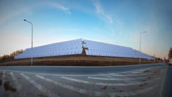 Sveriges största solcellspark öppen för anmälningar
