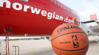 Norwegian NBA basketball