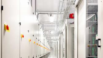 Inside new 500sqm data hall