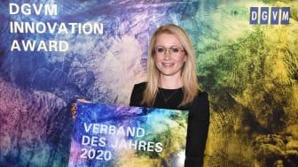 """BdS-Hauptgeschäftsführerin Andrea Belegante mit Auszeichnung""""Verband des Jahres 2020"""""""