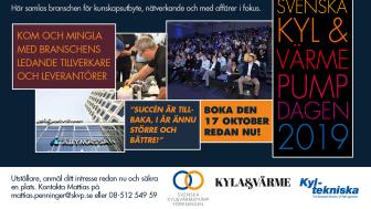 Svenska Kyl & Värmepumpdagen 2019