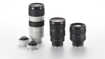 Sony lanserer ny G Master ™ - en serie av utskiftbare objektiver